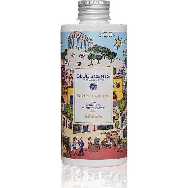 BLUE SCENTS Body Lotion Athenee