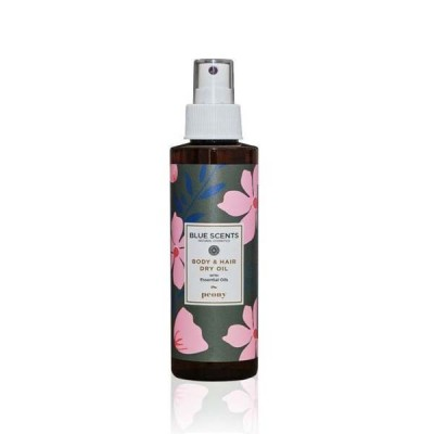 Blue Scents Body & Hair Dry Oil Peony