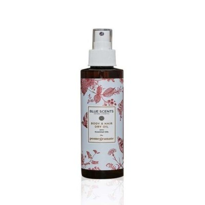 BLUE SCENTS Body & Hair Dry Oil Pomegranate