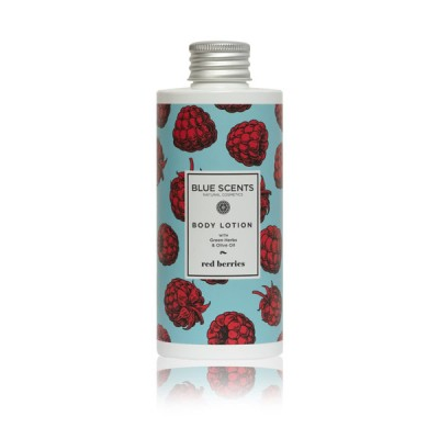 BLUE SCENTS BODY LOTION RED BERRIES