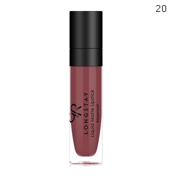 GOLDEN ROSE Longstay Liquid Matte Lipstick kissproof