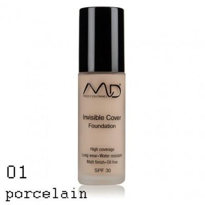 MD PROFESSIONNEL Invisible Cover Foundation 30ml