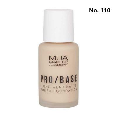 MUA PRO/BASE MATTE FINISH FOUNDATION