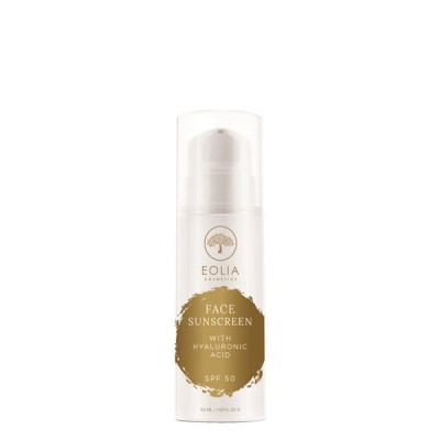 Eolia Face Sunscreen SPF50 with hyaluronic acid