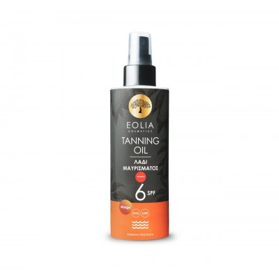Eolia Tanning Oil SPF6 Mango