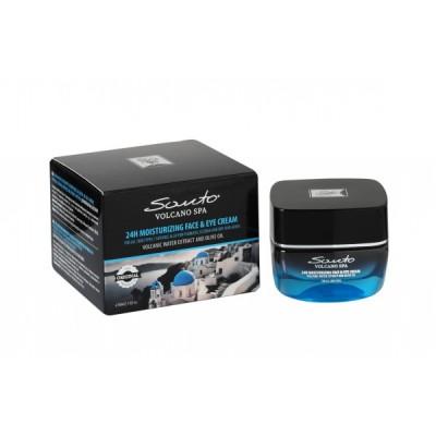 SANTO VOLCANO SPA 24h Moisturizing Face - Eye Cream 50ml