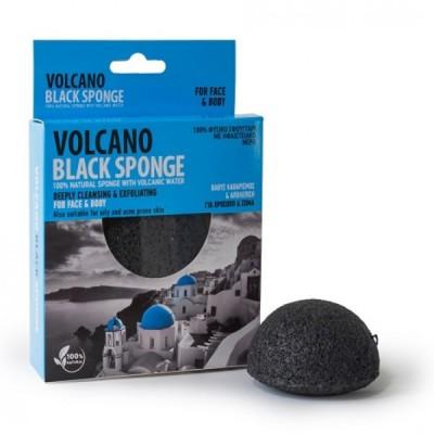 Olive Spa Volcano Black Sponge Mini 7.5 cm